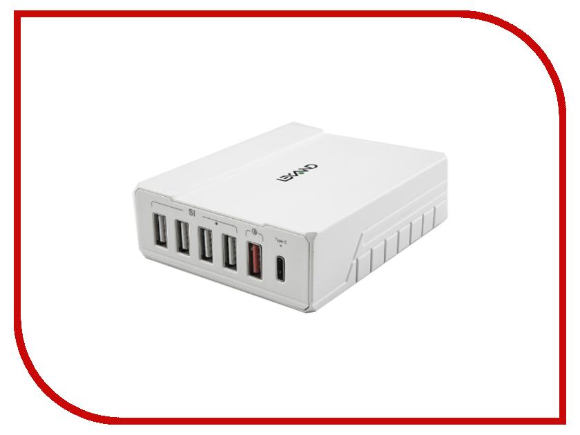 Зарядное устройство Lexand LP-6Q 6xUSB White стоимость