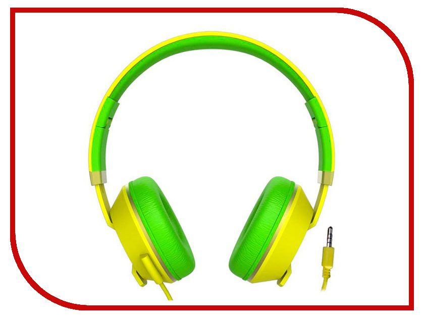 Havit HV-H2171d Yellow-Green мышь havit hv ms979gt usb blue