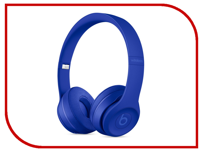 Beats Solo3 Wireless On-Ear Break Blue MQ392ZE/A чехол для для мобильных телефонов oem lenovo s660 case for lenovo s660