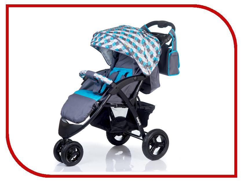 Коляска BabyHit Voyage Air Grey-Blue