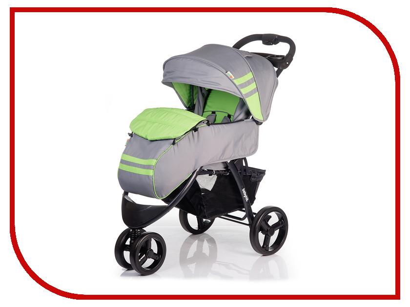 Коляска BabyHit Voyage Green-Grey