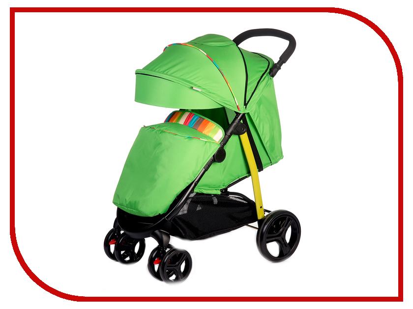 прогулочная коляска babyhit racy orange rhombus Коляска BabyHit Racy Green-Stripes