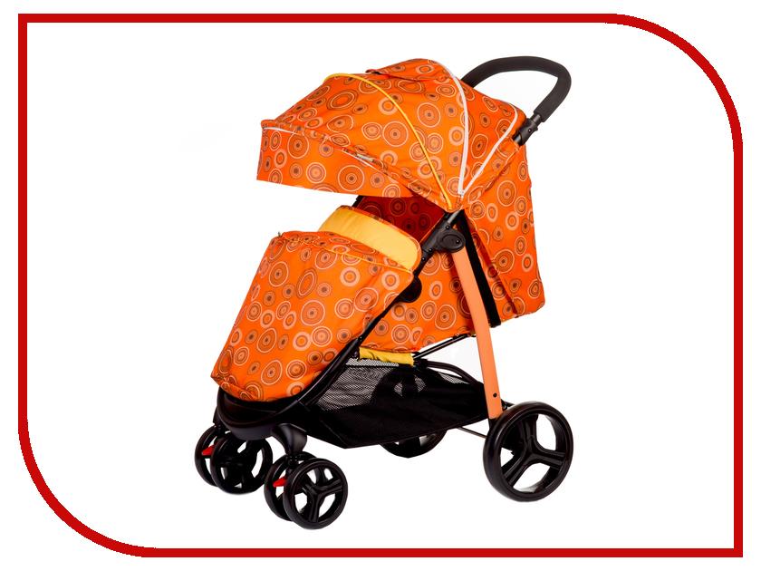 Коляска BabyHit Racy Orange-Circles