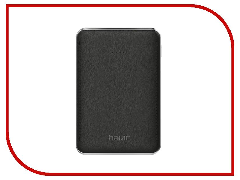 Аккумулятор Havit Power Bank HV-PB004X 5000mAh Black карт ридер havit hv c26 black