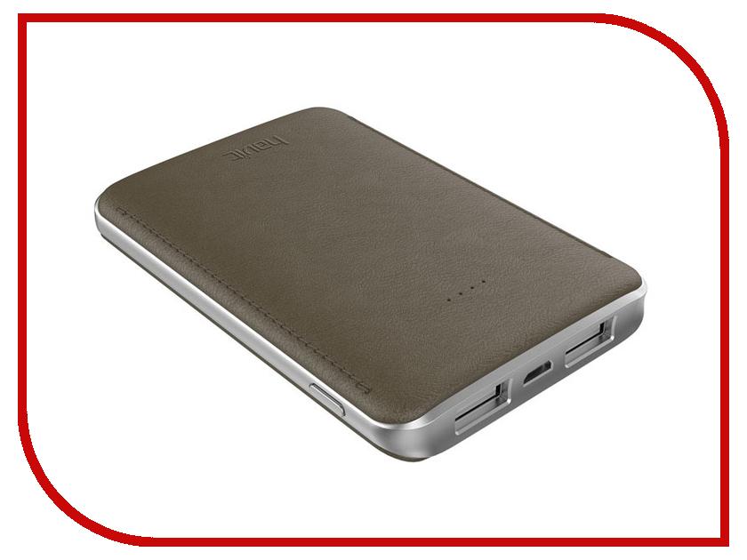 все цены на Аккумулятор Havit Power Bank HV-PB004X 5000mAh Red-Brown онлайн