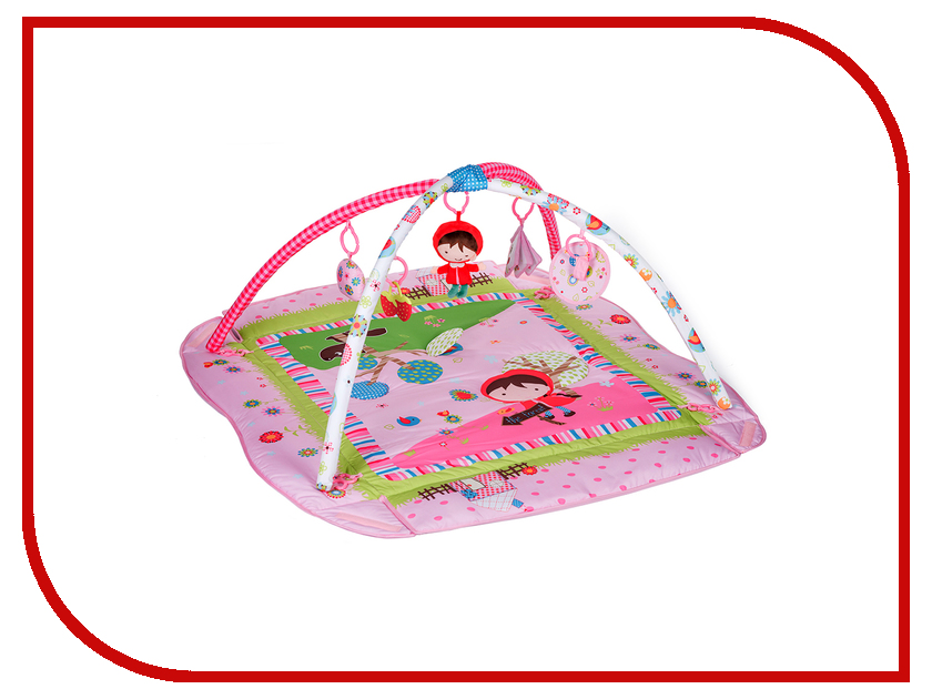 Развивающий коврик BabyHit Red Riding Hood PM-04 babyhit cube linen red