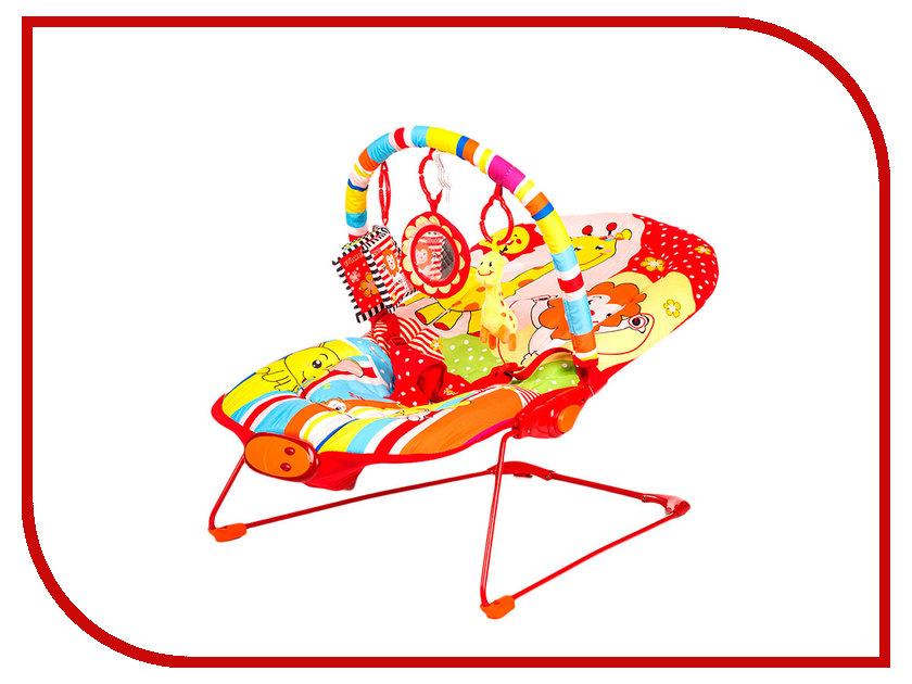 Кресло-шезлонг BabyHit Animal Paradise BR-01