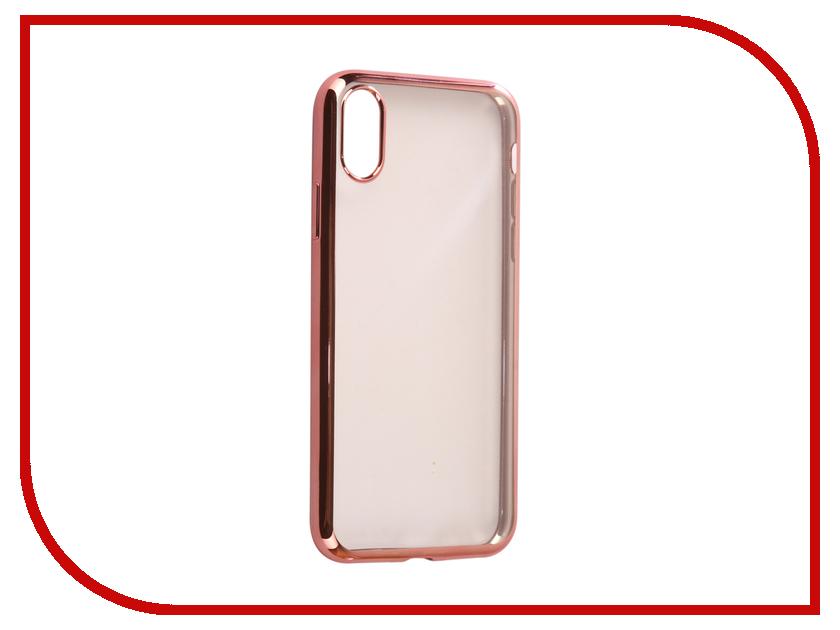Аксессуар Чехол Svekla Flash Silicone для iPhone X Pink Frame SVF-APX-PINK аксессуар набор для объемного рисования feizerg f001 pink fspi001