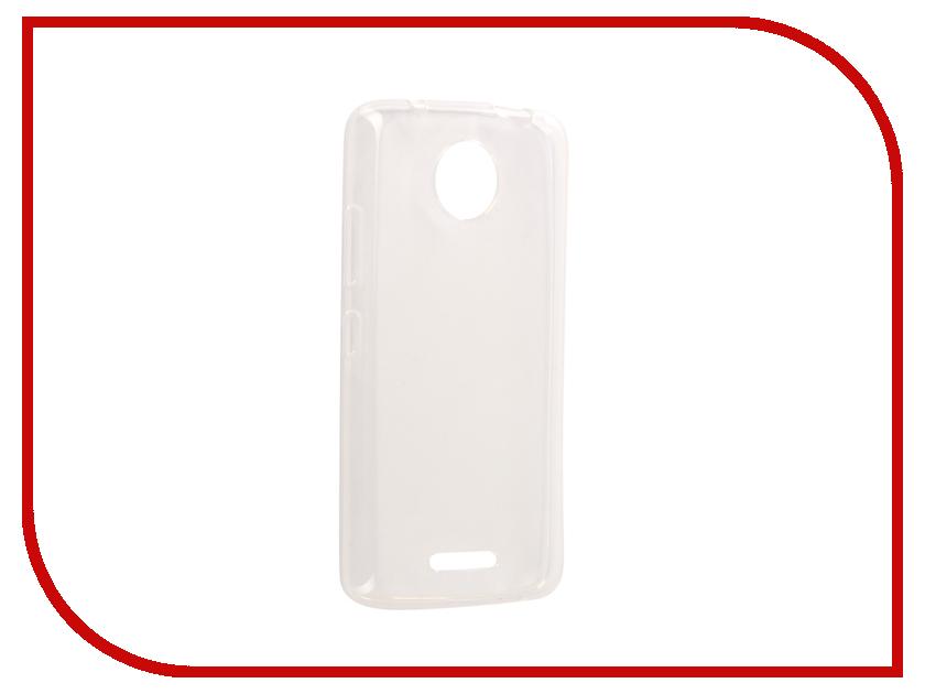 Аксессуар Чехол Motorola Moto C Svekla Silicone Transparent SV-MTMOTOC-WH аксессуар чехол lenovo vibe c2 k10a40 svekla transparent sv lek10a40 wh