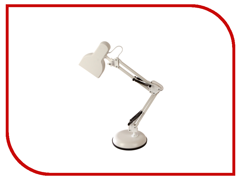 Настольная лампа Camelion KD-815 C01 White лампа настольная camelion kd 017bс02