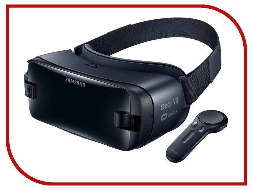 Очки виртуальной реальности Samsung Gear VR SM-R325 Dark-Blue SM-R325NZVASER / SM-R325NZVCSER sm j701fzkdser