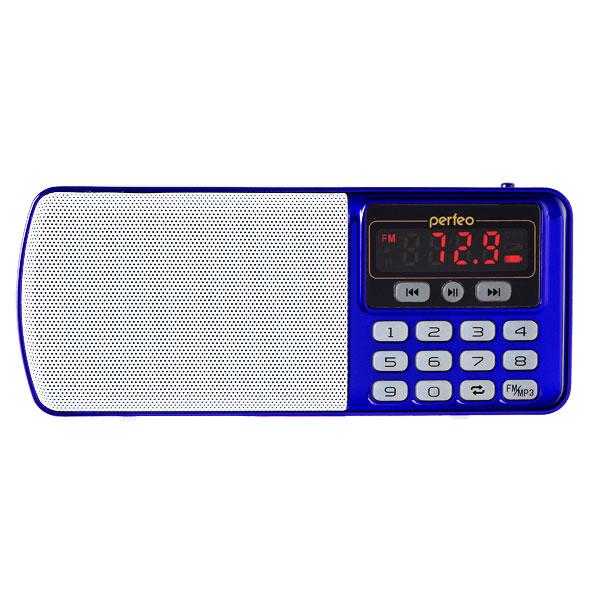 Zakazat.ru: Радиоприемник Perfeo Егерь FM+ i120 Blue