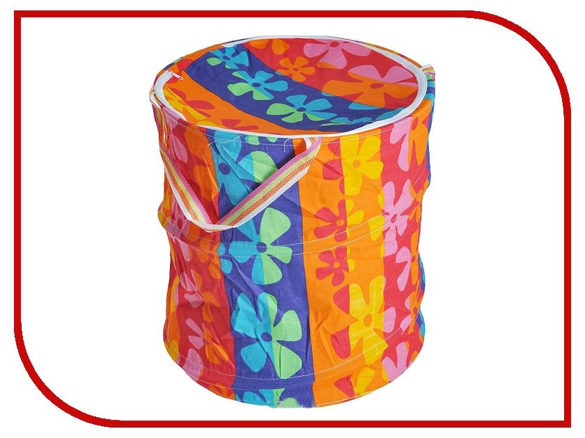 Корзина для игрушек Shantou Gepai Цветы радуги 41x50cm 635776
