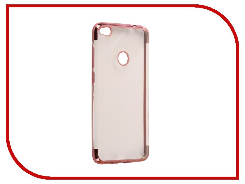 Аксессуар Чехол Huawei Honor 8 Lite Svekla Flash Silicone Pink Frame SVF-HWH8LITE-PINK