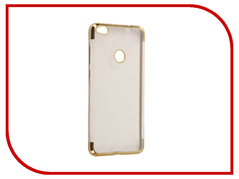 Аксессуар Чехол Huawei Honor 8 Lite Svekla Flash Silicone Gold Frame SVF-HWH8LITE-GOLD аксессуар чехол huawei honor 6c svekla flash silicone black svf hwh6c bl