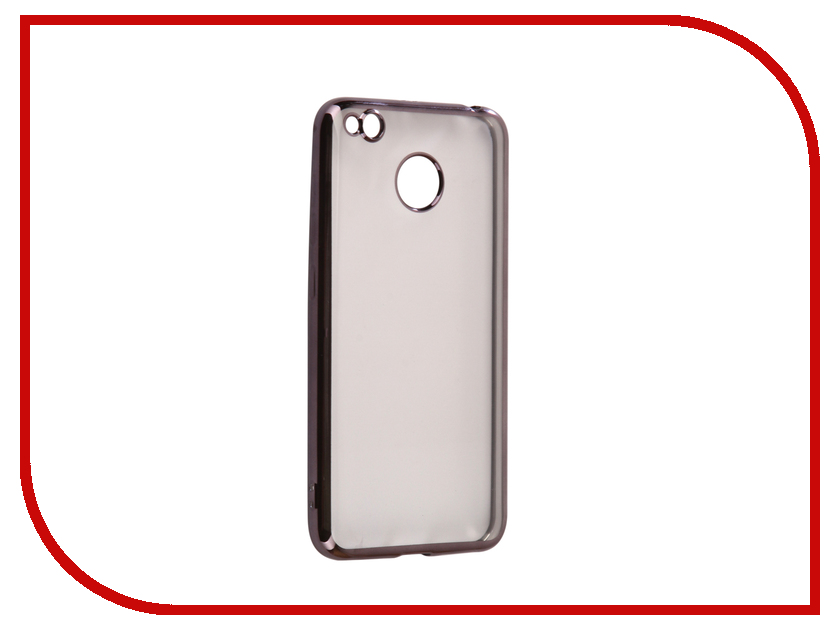 Аксессуар Чехол Xiaomi Redmi 4X Svekla Flash Silicone Black Frame SVF-XIRED4X-BL аксессуар чехол huawei honor 6c svekla flash silicone black svf hwh6c bl