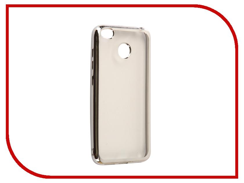 Аксессуар Чехол Xiaomi Redmi 4X Svekla Flash Silicone Silver Frame SVF-XIRED4X-SIL