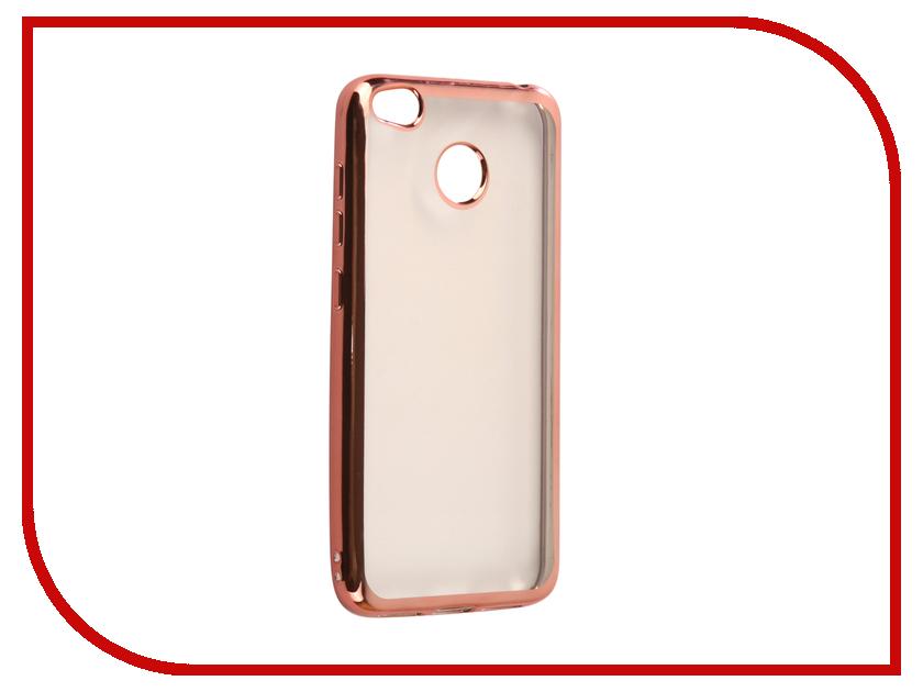 где купить Аксессуар Чехол Xiaomi Redmi 4X Svekla Flash Silicone Pink Frame SVF-XIRED4X-PINK дешево