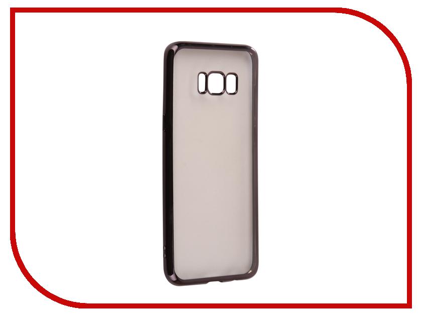 Аксессуар Чехол Samsung S8 Plus G955F Svekla Flash Silicone Black Frame SVF-SGG955F-BL аксессуар чехол xiaomi mi a1 svekla flash silicone black frame svf ximia1 bl