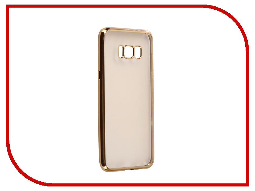 Аксессуар Чехол Samsung S8 Plus G955F Svekla Flash Silicone Gold Frame SVF-SGG955F-GOLD