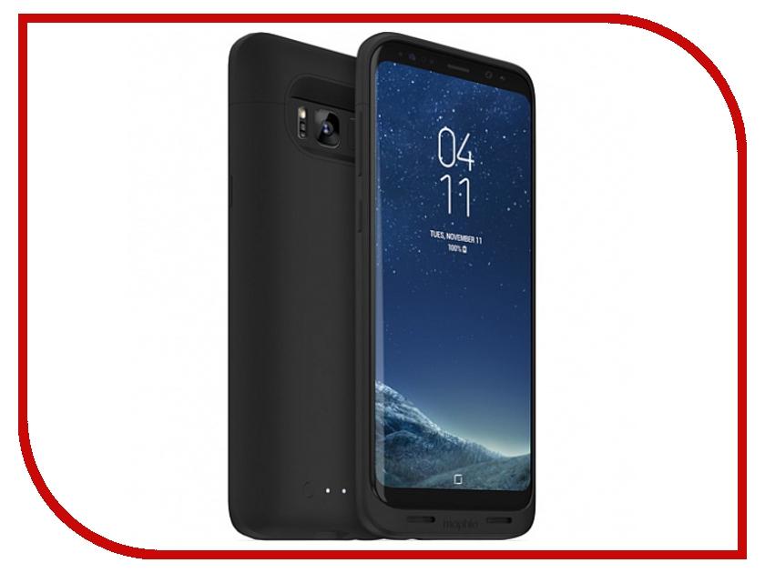 все цены на  Аксессуар Чехол-аккумулятор Samsung Galaxy S8+ Mophie Juice Pack 2950 mAh Black 4018  онлайн