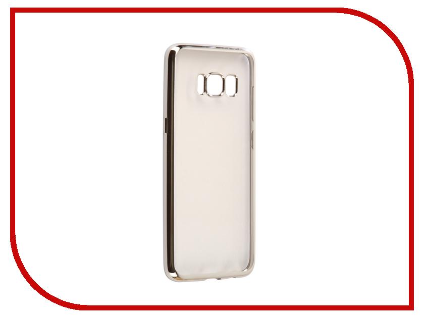 Аксессуар Чехол Samsung S8 G950F Svekla Flash Silicone Silver Frame SVF-SGG950F-SIL аксессуар чехол samsung galaxy a5 2017 a520f svekla flash silicone silver frame svf sga520f sil