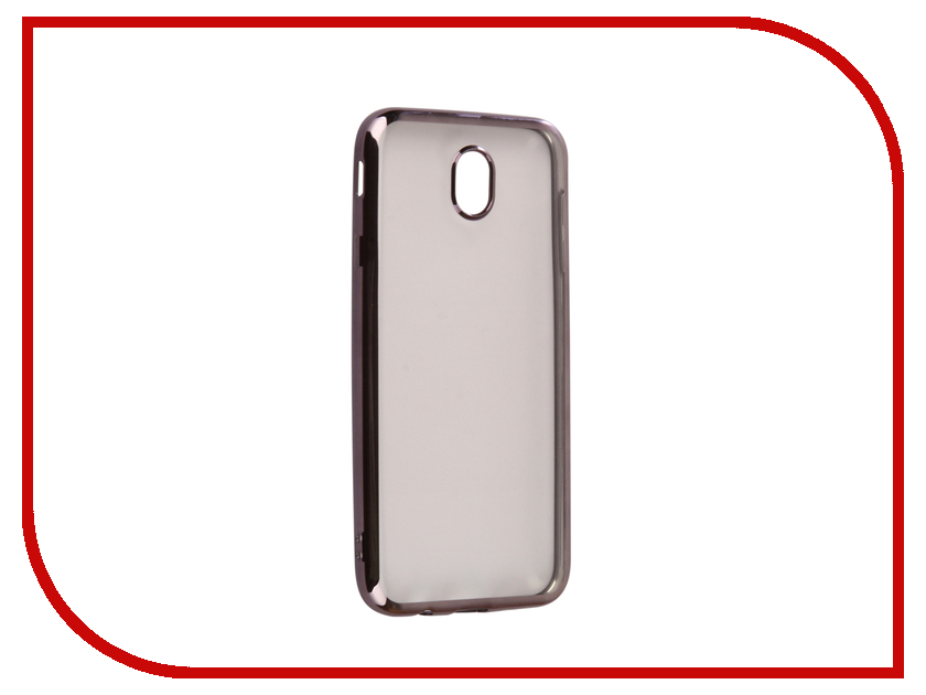 Аксессуар Чехол Samsung Galaxy J7 2017 J730F Svekla Flash Silicone Black Frame SVF-SGJ730F-BL аксессуар чехол xiaomi mi a1 svekla flash silicone black frame svf ximia1 bl