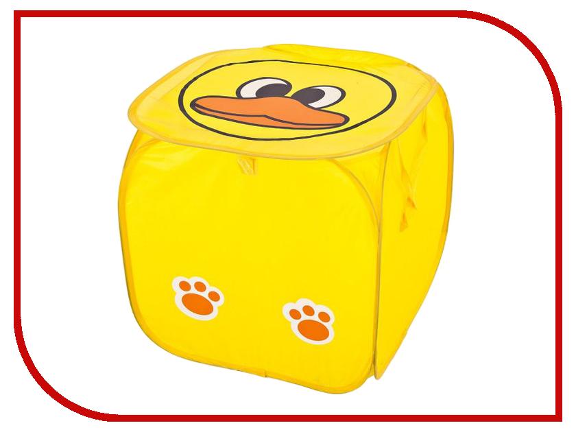 Корзина для игрушек Shantou Gepai Корзина для игрушек Утенок J-136 45x45cm shantou gepai кукла озвученная baby toby