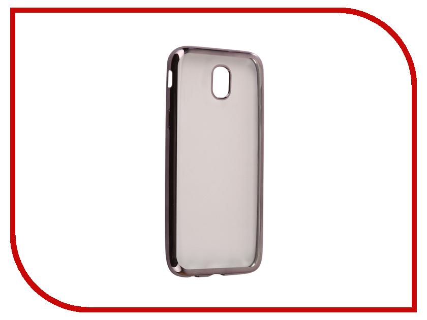 Аксессуар Чехол Samsung Galaxy J5 2017 J530F Svekla Flash Silicone Black Frame SVF-SGJ530F-BL аксессуар чехол xiaomi mi a1 svekla flash silicone black frame svf ximia1 bl