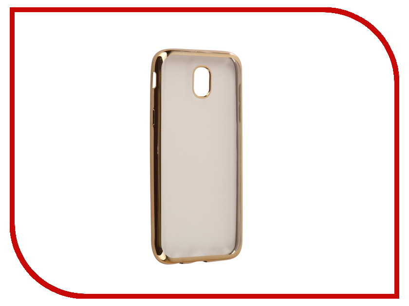 все цены на Аксессуар Чехол Samsung Galaxy J5 2017 J530F Svekla Flash Silicone Gold Frame SVF-SGJ530F-GOLD онлайн