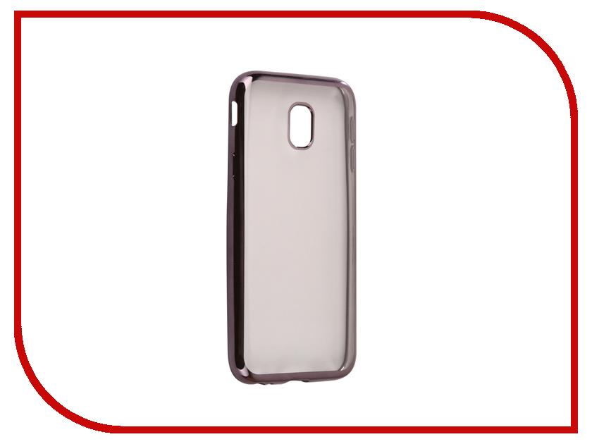Аксессуар Чехол Samsung Galaxy J3 2017 J330F Svekla Flash Silicone Black Frame SVF-SGJ330F-BL аксессуар чехол xiaomi mi a1 svekla flash silicone black frame svf ximia1 bl