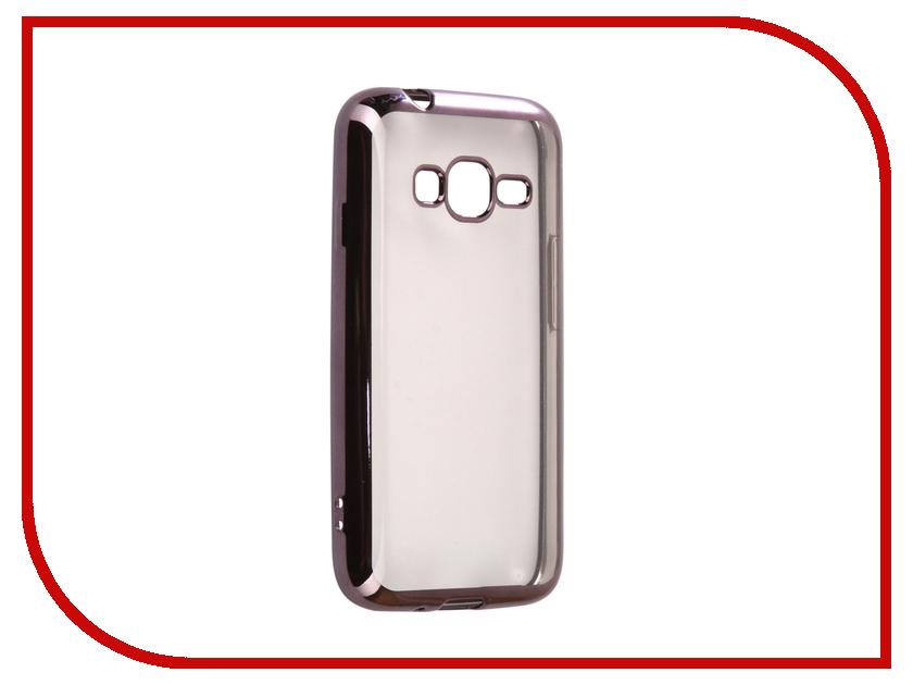 Аксессуар Чехол Samsung Galaxy J1 mini Prime J106F Svekla Flash Silicone Black Frame SVF-SGJ106F-BL аксессуар чехол samsung galaxy j5 prime g570f svekla black fl svsamg570f bl