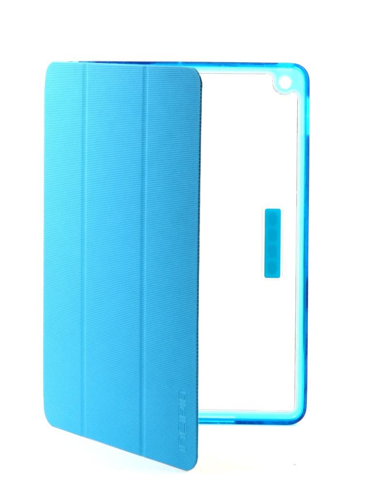 Аксессуар Чехол Incipio для APPLE iPad 2017 Octane Pure Transparent-Light Blue IPD-386-CYN чехол incipio для ipad air lgnd розовый ipd 331 pnk
