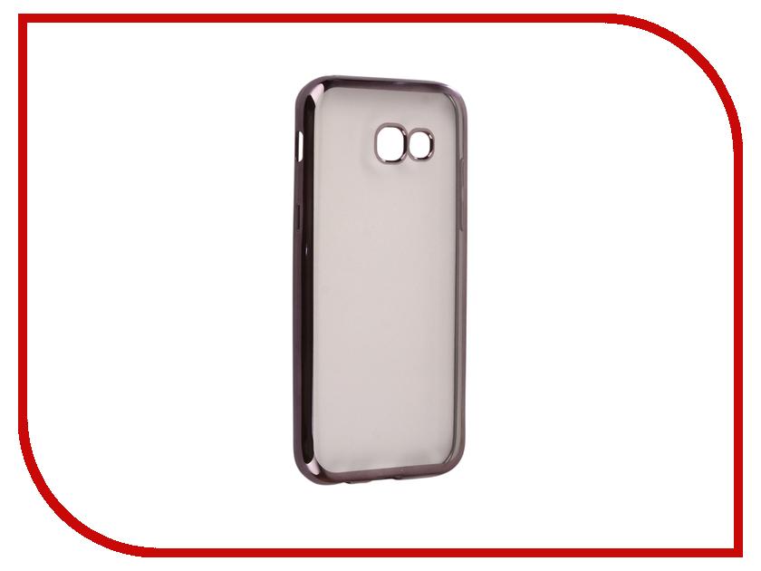 Аксессуар Чехол для Samsung Galaxy A5 2017 A520F Svekla Flash Silicone Black Frame SVF-SGA520F-BL цена