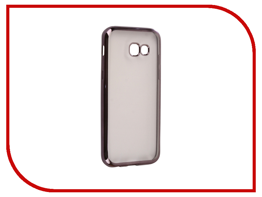 Аксессуар Чехол Samsung Galaxy A5 2017 A520F Svekla Flash Silicone Black Frame SVF-SGA520F-BL аксессуар чехол xiaomi mi a1 svekla flash silicone black frame svf ximia1 bl