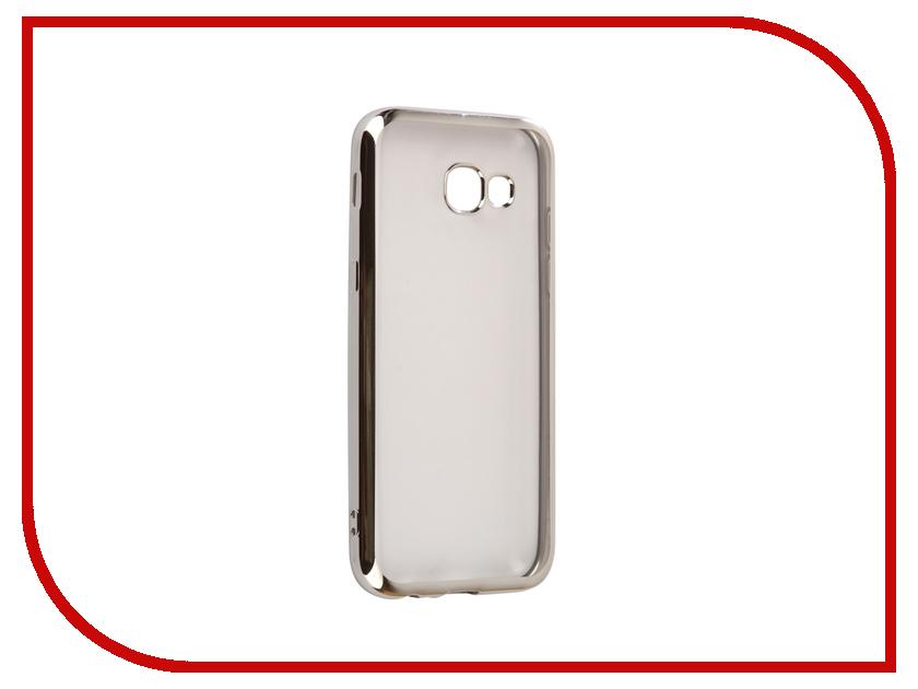 Аксессуар Чехол Samsung Galaxy A5 2017 A520F Svekla Flash Silicone Silver Frame SVF-SGA520F-SIL аксессуар чехол samsung galaxy j2 prime g532f svekla flash silicone silver svf sgg532f sil