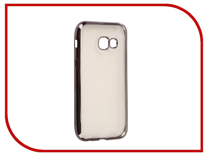 Аксессуар Чехол Samsung Galaxy A3 2017 A320F Svekla Flash Silicone Black Frame SVF-SGA320F-BL аксессуар чехол xiaomi mi a1 svekla flash silicone black frame svf ximia1 bl