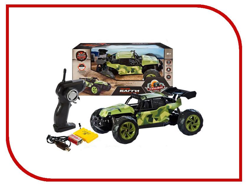 Игрушка Пламенный мотор Багги ПМ-007 Green Khaki 870266