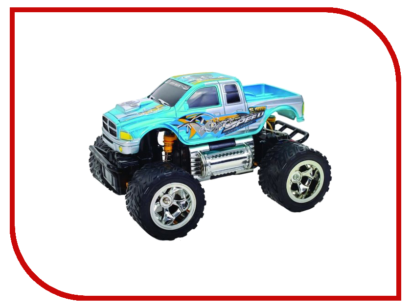 Игрушка Пламенный мотор Джип ПМ-030 Blue 870260 пламенный мотор пламенный мотор радиоуправляемая машина монстр трак пм 030 серый
