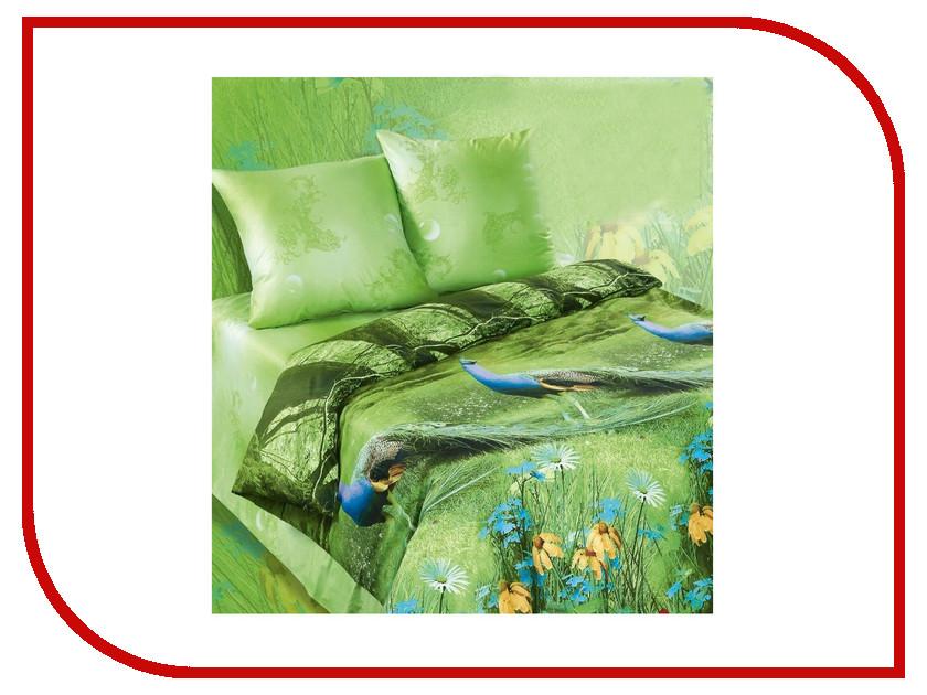 Постельное белье Экзотика 449 Комплект 2 спальный Сатин постельное белье рагнеда сатин 2 спальный