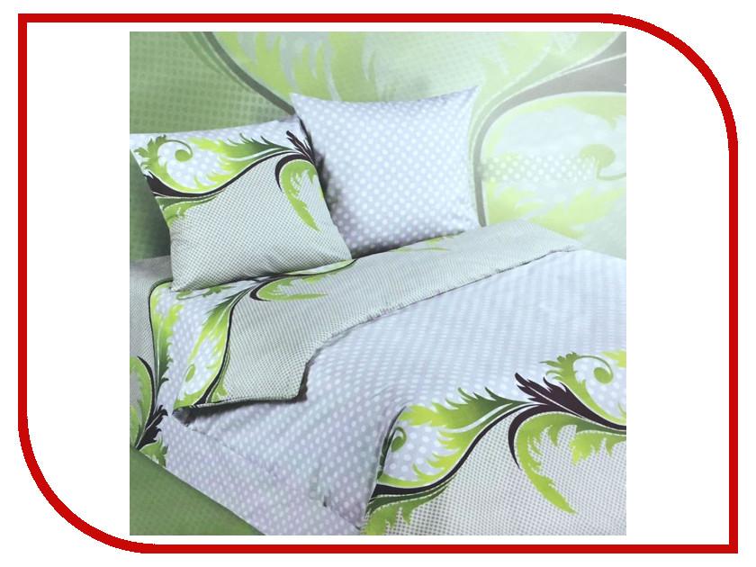 Постельное белье Экзотика 498 Комплект 1.5 спальный Поплин