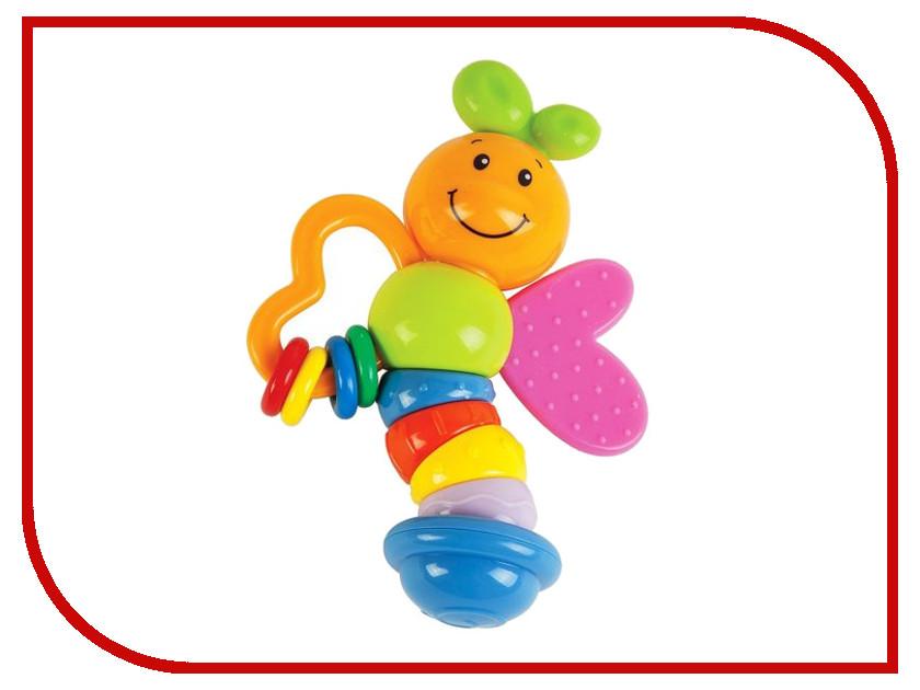 Погремушка Жирафики Прорезыватель Бабочка Мия 15cm 939392 жирафики развивающая игрушка бабочка жирафики