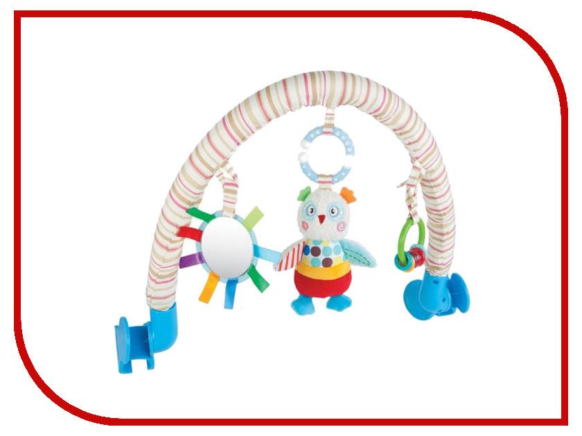 Игрушка Жирафики Дуга с погремушкой Совёнок Бонни 939389 развивающая игрушка жирафики подвеска коровка с погремушкой 93819