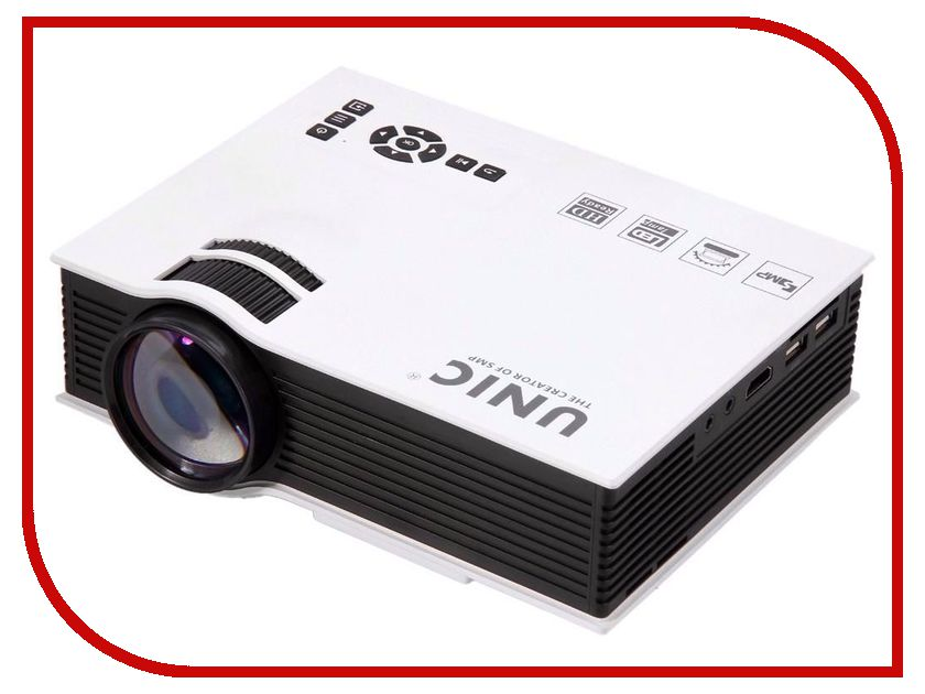 Мультимедийные проекторы UC 40+  Проектор Unic UC 40+ White