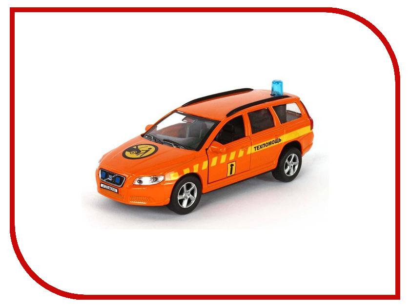 Машина Пламенный мотор Volvo V70 Техпомощь 87495 машинка пламенный мотор внедорожник 87587