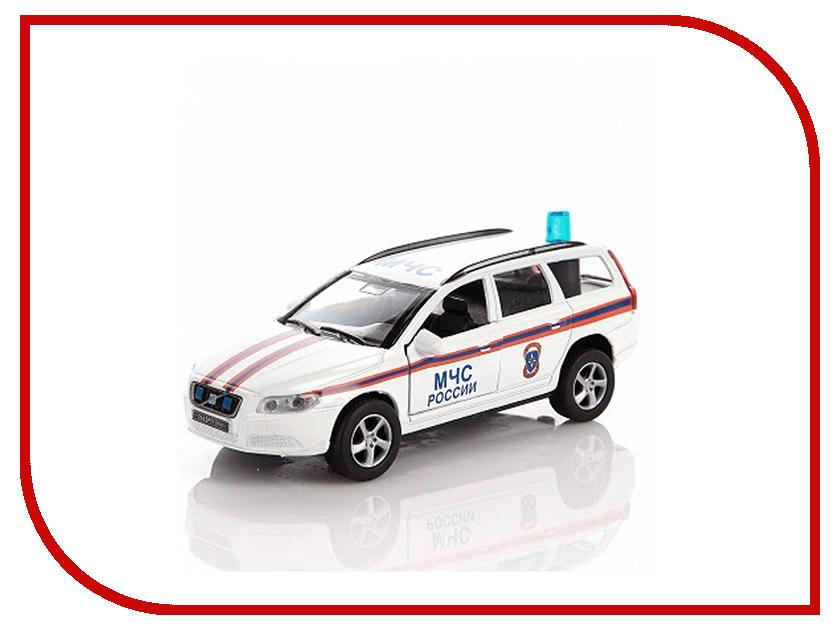 Машина Пламенный мотор Volvo МЧС 87430 пламенный мотор машина volvo аварийная служба горгаз 1 32 со светом и звуком пламенный мотор