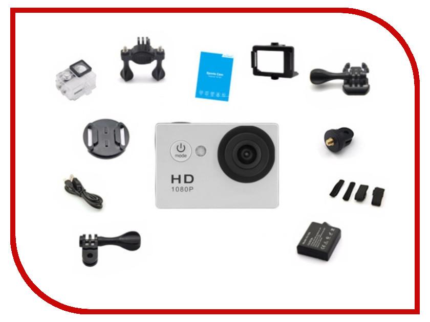 Экшн-камера EKEN A8 White eken pano360 экшн камера