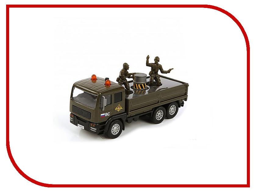 Машина Пламенный мотор Армейский грузовик 870089 машинка пламенный мотор внедорожник 87587