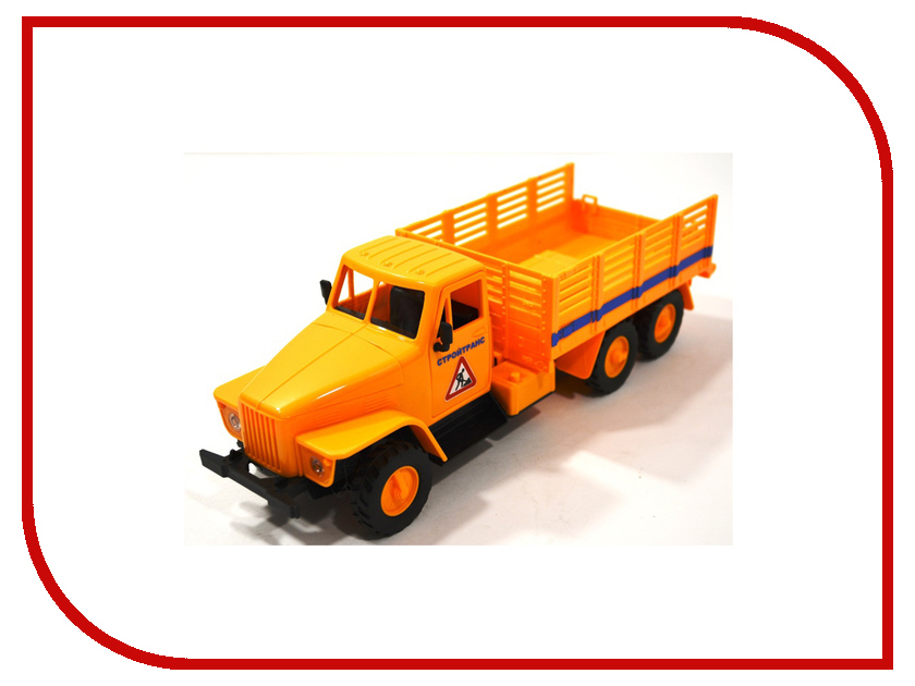 Машина Пламенный мотор СтройТранс 870041 пламенный мотор пламенный мотор джип сафари радиоуправляемый черный