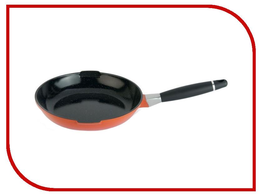 Сковорода Berghoff Virgo Orange 26cm 2.4L 2304910 кастрюля berghoff virgo orange с крышкой с антипригарным покрытием цвет оранжево красный 4 6 л